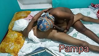 Pampa fucked by house owner part 2 with Hindi audio