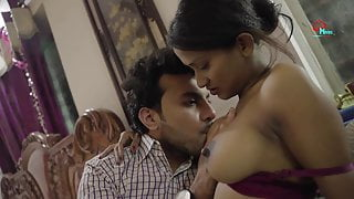 Desi with big tits loves anal sex, HD